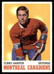 1970 Topps #53  Terry Harper  Front Thumbnail