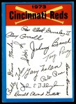 1973 Topps Blue Checklist   Reds Front Thumbnail