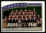 1976 Topps #141   Canadiens Team Front Thumbnail