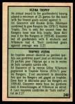 1971 O-Pee-Chee #248   -  Ed Giacomin / Gilles Villemure Vezina Trophy Back Thumbnail