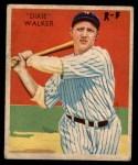 1935 Diamond Stars #12 BOS Dixie Walker  Front Thumbnail