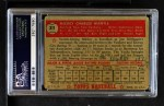 1952 Topps #311  Mickey Mantle  Back Thumbnail