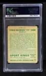 1933 Goudey Sport Kings #1  Ty Cobb   Back Thumbnail