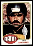 1976 Topps #343  Duane Carrell   Front Thumbnail