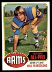 1976 Topps #310  Jack Youngblood  Front Thumbnail