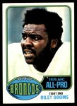 1976 Topps #320  Riley Odoms  Front Thumbnail