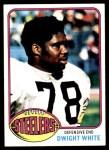 1976 Topps #365  Dwight White  Front Thumbnail