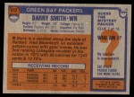 1976 Topps #412  Barry Smith   Back Thumbnail