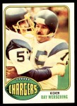 1976 Topps #304  Ray Wersching   Front Thumbnail