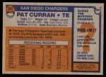 1976 Topps #337  Pat Curran  Back Thumbnail