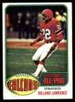 1976 Topps #350  Rolland Lawrence   Front Thumbnail