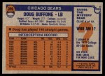 1976 Topps #396  Doug Buffone  Back Thumbnail