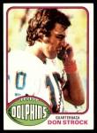 1976 Topps #299  Don Strock   Front Thumbnail