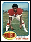 1976 Topps #327  Bruce Taylor  Front Thumbnail