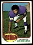 1976 Topps #385  Jim Marshall  Front Thumbnail