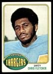1976 Topps #422  Chris Fletcher  Front Thumbnail