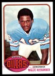 1976 Topps #316  Willie Alexander  Front Thumbnail