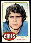 1976 Topps #371  Rick Volk  Front Thumbnail