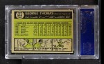 1961 Topps #544  George Thomas  Back Thumbnail