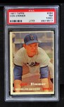 1957 Topps #284  Don Zimmer  Front Thumbnail