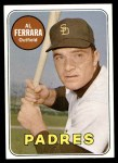 1969 Topps #452 WN Al Ferrara  Front Thumbnail