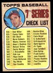 1968 Topps #518 AM  -  Clete Boyer Checklist 7 Front Thumbnail