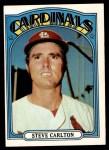 1972 Topps #420  Steve Carlton  Front Thumbnail