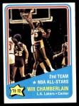 1972 Topps #168   -  Wilt Chamberlain  NBA All-Star - 2nd Team Front Thumbnail