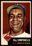 1953 Topps #27  Roy Campanella  Front Thumbnail