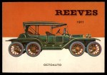 1954 Topps World on Wheels #135   Reeves Octoauto 1911 Front Thumbnail