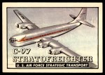 1952 Topps Wings #58   C-97 Stratofreighter Front Thumbnail