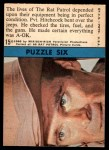 1966 Topps Rat Patrol #15   The Lives of the Rat Patrol Depended Back Thumbnail