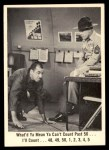 1965 Fleer Gomer Pyle #17   What'd Ya Mean Ya Can't Count Front Thumbnail