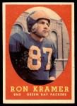 1958 Topps #58  Ron Kramer  Front Thumbnail