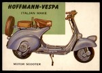 1954 Topps World on Wheels #129   Hoffman-Vespa Scooter Front Thumbnail