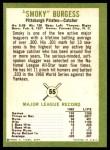 1963 Fleer #55  Smoky Burgess  Back Thumbnail
