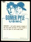 1965 Fleer Gomer Pyle #57   Drip Looking for Drop Back Thumbnail