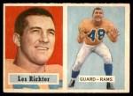 1957 Topps #10  Les Richter  Front Thumbnail