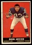 1961 Topps #83  Don Joyce  Front Thumbnail