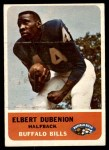 1962 Fleer #14  Elbert Dubenion  Front Thumbnail