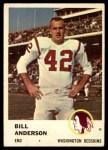 1961 Fleer #111  Bill Anderson  Front Thumbnail