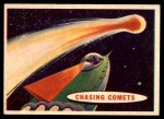1957 Topps Space Cards #65   Chasing Comets  Front Thumbnail