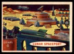 1957 Topps Space Cards #64   Lunar Spaceport Front Thumbnail
