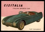 1954 Topps World on Wheels #102   Cisitalia Front Thumbnail