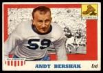 1955 Topps #7  Andy Bershak  Front Thumbnail