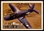 1952 Topps Wings #63   FJ Fury Front Thumbnail