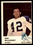 1961 Fleer #42  Don Mcllhenny  Front Thumbnail