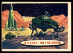 1957 Topps Space Cards #38   It's Easy On the Moon Front Thumbnail