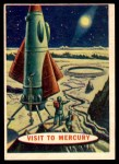 1957 Topps Space Cards #76   Visit to Mercury Front Thumbnail