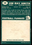 1960 Topps #28  Jim Ray Smith  Back Thumbnail